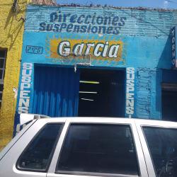 Direcciones Suspensiones Garcia  en Bogotá