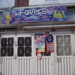 Papeleria Favel's en Bogotá