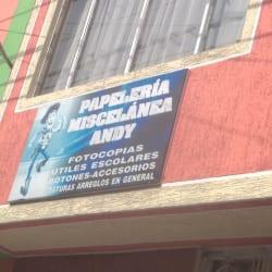 Papeleria y Miscelanea ANDY en Bogotá