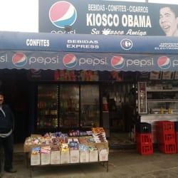 Kiosko Obama en Santiago