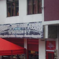 El Botalon N° 2 en Bogotá