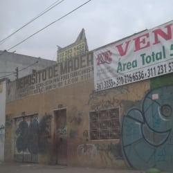 Depósito de Maderas P Y G en Bogotá