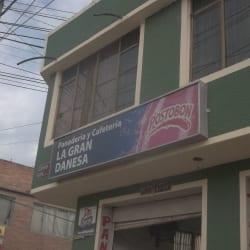 Panaderia y cafeteria La Gran Danesa en Bogotá