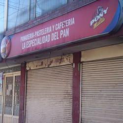 Panaderia   Pasteleria y Cafeteria La Especialidad Del Pan  en Bogotá