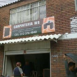 Carpinteria WB  en Bogotá