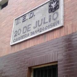 Colegio Distrital Veinte de Julio en Bogotá