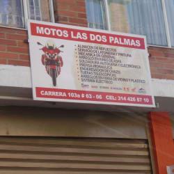 Motos Las Dos Palmas  en Bogotá