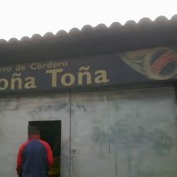 Asadero de Cordero Doña Toña en Bogotá