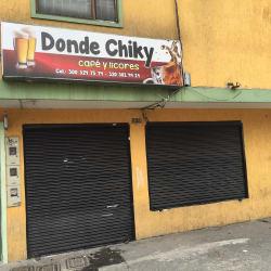 Donde Chiky en Bogotá