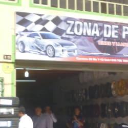 Almacén Zona de Pits Rines y Llantas en Bogotá