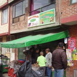 Frutas y Verduras El paisa y Carnes El Novillon en Bogotá