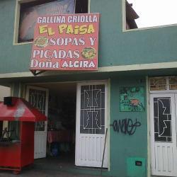 Gallina Criolla El Paisa en Bogotá
