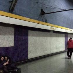 Estación Metro Franklin en Santiago