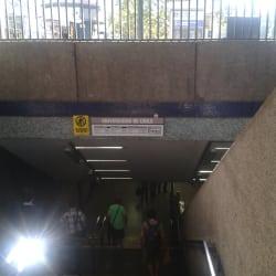 Estación Metro Universidad de Chile en Santiago