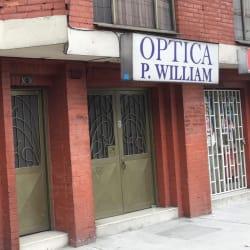 Óptica P William en Bogotá