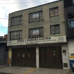 Rines Y Ruedas Gaitan en Bogotá