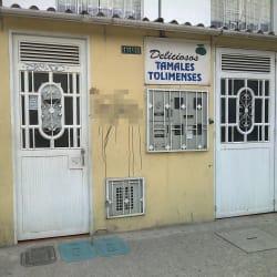 Tamales Tolimenses  en Bogotá
