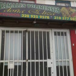 Tamales Tolimenses Doña Elisa en Bogotá
