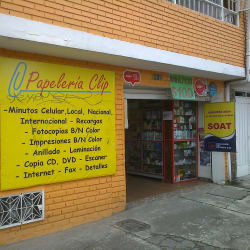 Papelería Clip en Bogotá