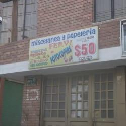 Miscelanea y Papeleria Fervi en Bogotá