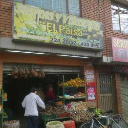 Frutas Y Verduras el paisa en Bogotá