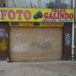 Foto Fredy Galindo en Bogotá