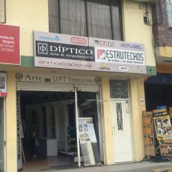 Diptico Arquitectura & Decoración en Bogotá
