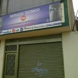 Servicio tecnico RG en Bogotá
