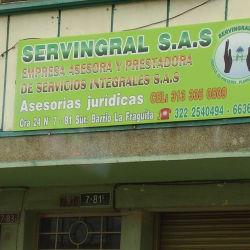 Servingral S.A.S en Bogotá