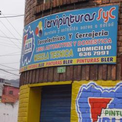 Ferretería Servipinturas en Bogotá