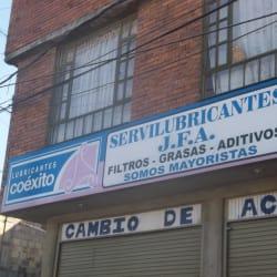 Servilubricantes J.F.A. en Bogotá