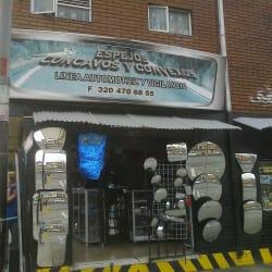Espejos Concavos y Convexos en Bogotá