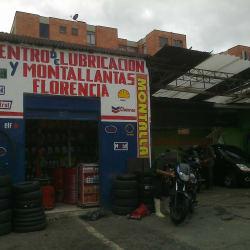 Centro de Lubricación y Montallantas Florencia en Bogotá