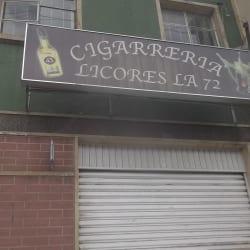Cigarreria Licores la 72 en Bogotá