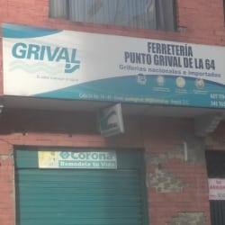 Ferreteria Punto Grival de la 64 en Bogotá