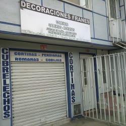 Decoraciones Franes en Bogotá
