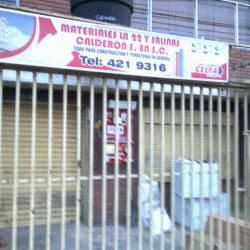 Materiales La 22 Salinas Calderon S C S en Bogotá