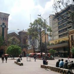 Plazoleta Las Nieves en Bogotá