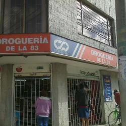Droguería de la 83 en Bogotá