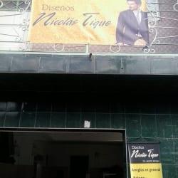 Diseños Nicolas Tique en Bogotá