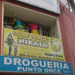 Disfraces Nikalu en Bogotá