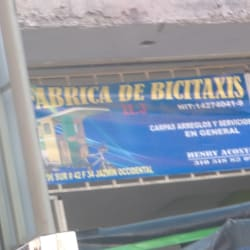 Fabrica de Bicitaxis H.3 en Bogotá