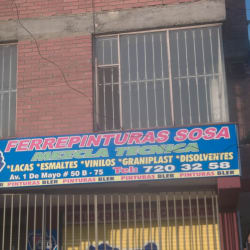 Ferrepinturas Sosa en Bogotá