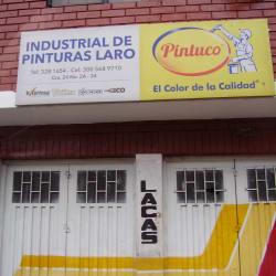 Industrial de Pinturas Laro  en Bogotá