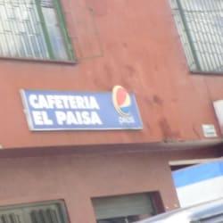 Cafetería El Paisa en Bogotá