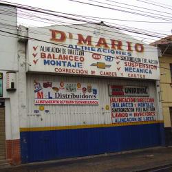 D' Mario Alineaciones  en Bogotá