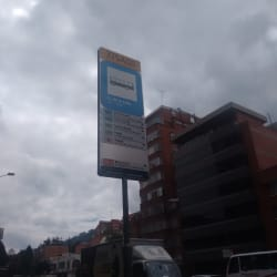 Paradero SITP U. de la Salle - 375A00 en Bogotá