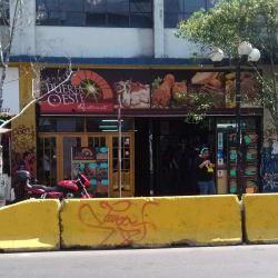 Puerta oeste en Santiago