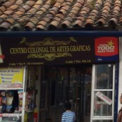 Centro Colonial De Artes Gráficas en Bogotá