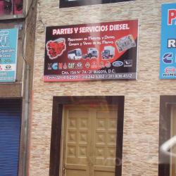 Partes Y Servicios Diesel  en Bogotá